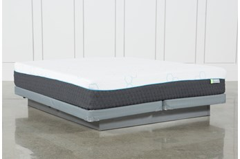 Kit-Revive H2 Medium Hybrid Eastern King Mattress W/Low Profile Foundation