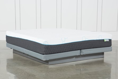 H2 Medium Eastern King Mattress W/Low Profile Foundation