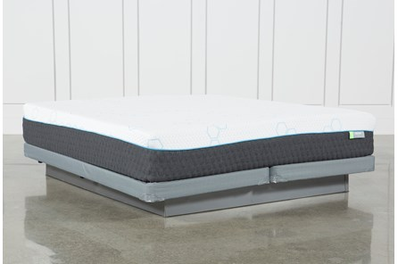 H2 Medium Hybrid Eastern King Mattress W/Low Profile Foundation - Main