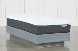 H2 Plush Hybrid Twin Mattress W/Foundation