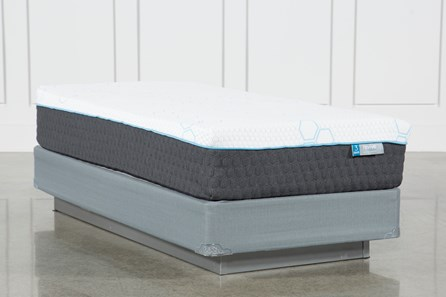 H2 Plush Twin Mattress W/Foundation
