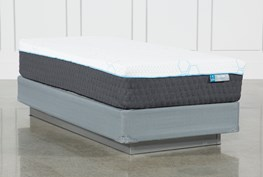 H2 Plush Hybrid Twin Xl Mattress W/Foundation