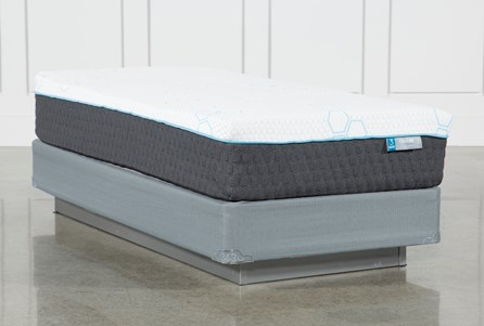 H2 Plush Twin Extra Long Mattress W/Foundation