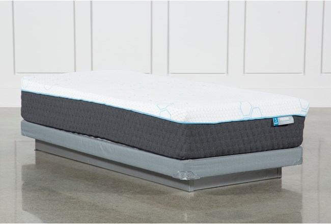 Kit-Revive H2 Plush Hybrid Twin Extra Long Mattress W/Low Profile Foundation - 360