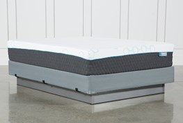 H2 Plush Hybrid Full Mattress W/Foundation