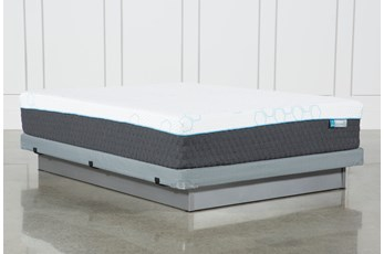 Kit-Revive H2 Plush Hybrid Full Mattress W/Low Profile Foundation