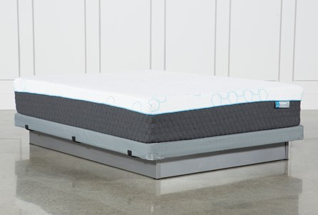 H2 Plush Full Mattress W/Low Profile Foundation