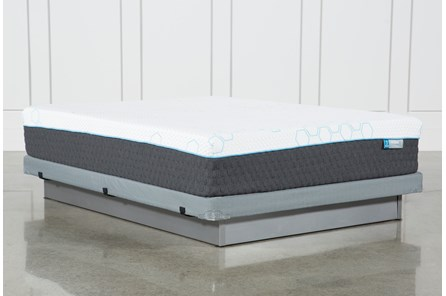 H2 Plush Hybrid Full Mattress W/Low Profile Foundation - Main