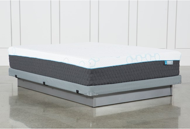 H2 Plush Hybrid Full Mattress W/Low Profile Foundation - 360
