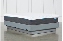 H2 Plush Hybrid Queen Mattress W/Foundation