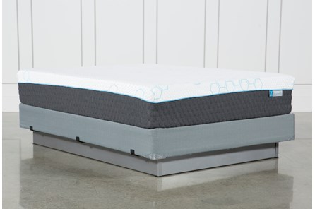H2 Plush Hybrid Queen Mattress W/Foundation - Main