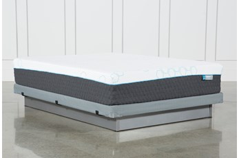 Kit-Revive H2 Plush Hybrid Queen Mattress W/Low Profile Foundation