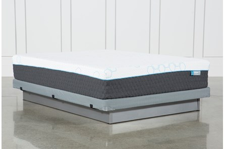 H2 Plush Hybrid Queen Mattress W/Low Profile Foundation - Main