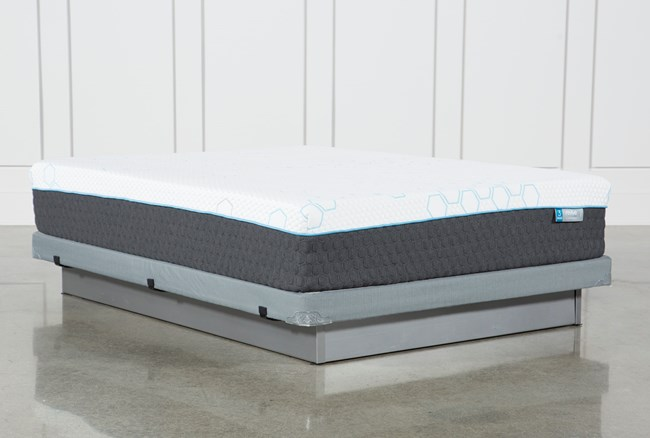 H2 Plush Queen Mattress W/Low Profile Foundation - 360
