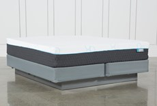 H2 Plush Hybrid Eastern King Mattress With Foundation