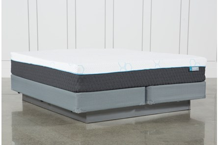 H2 Plush Eastern King Mattress W/Foundation - Main