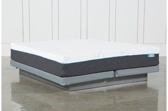 Kit-Revive H2 Plush Eastern King Mattress W/Low Profile Foundation