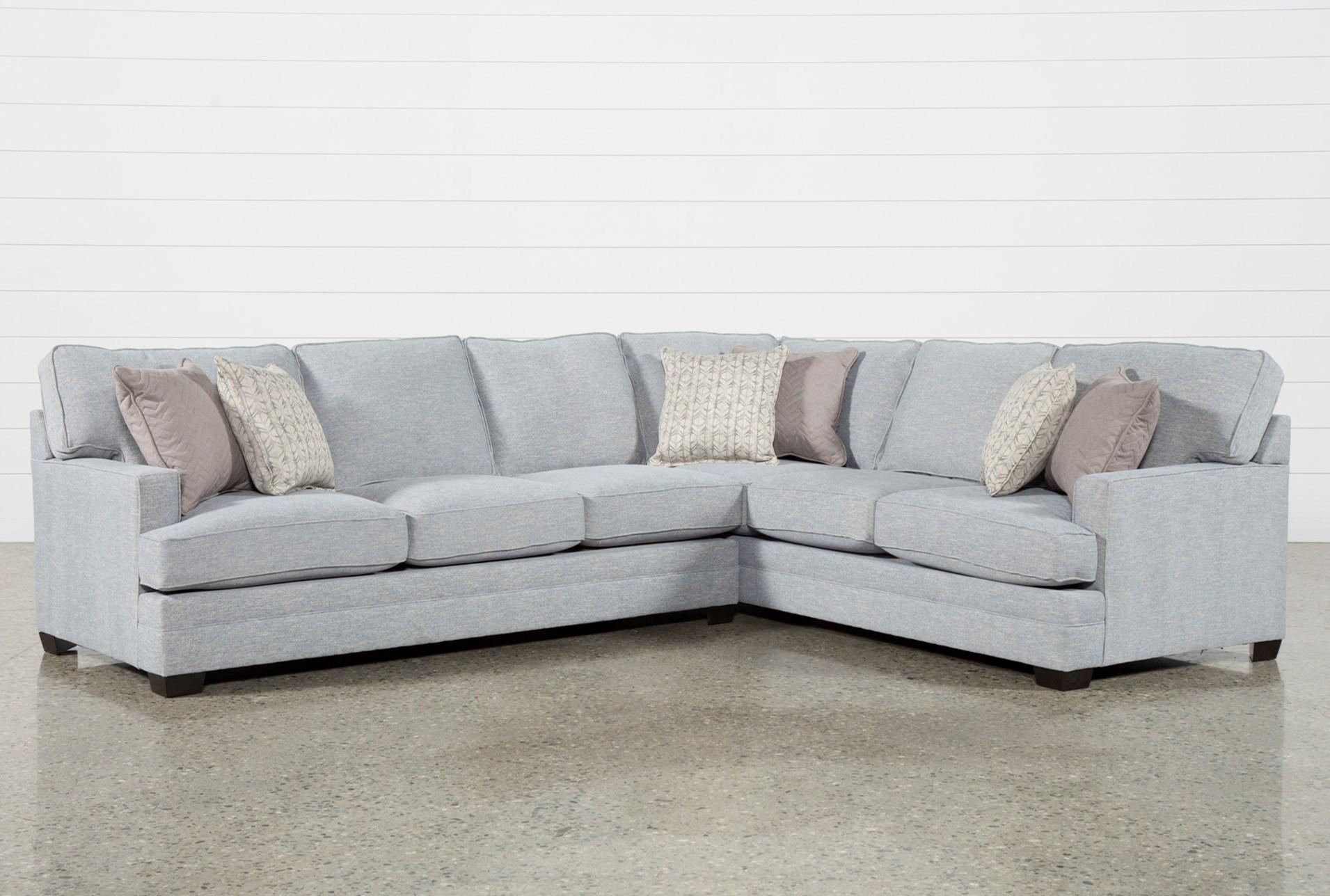 Josephine 2 Piece Sectional W/Raf Sofa   Living Spaces