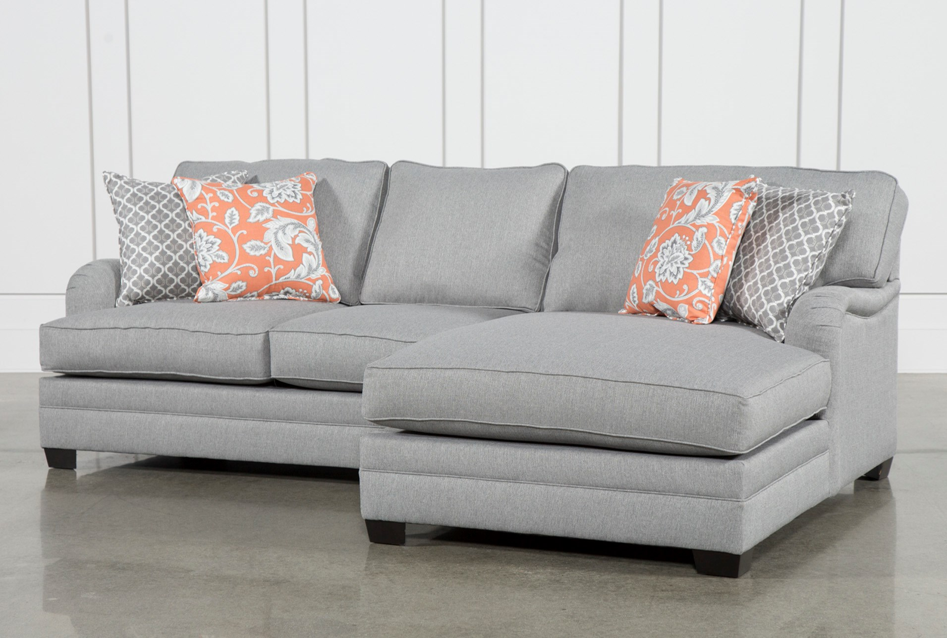 Marissa 2 Piece Sectional W Raf Chaise Living Spaces