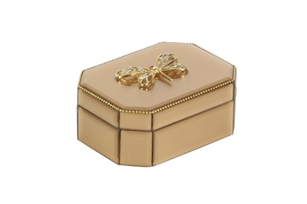 Gold Dragonfly Box