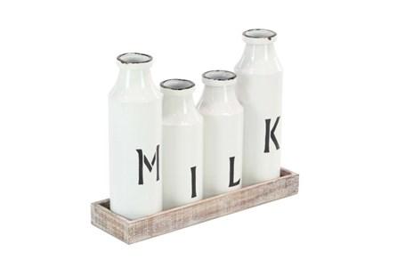Milk Bottle Tray Set - Main