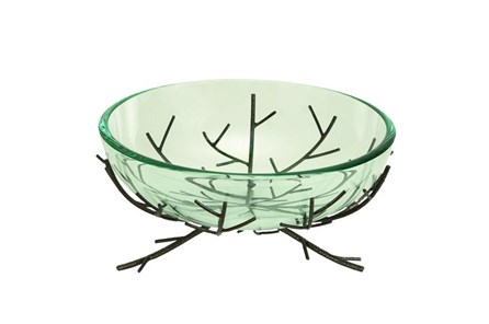 Glass Bowl Metal Stand - Main