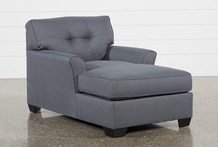 Chilkoot Gunmetal Chaise