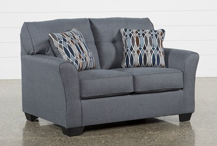 Chilkoot Gunmetal Loveseat