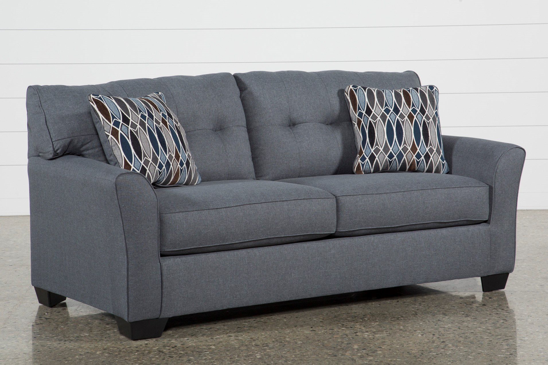 chilkoot gunmetal full sofa sleeper living spaces
