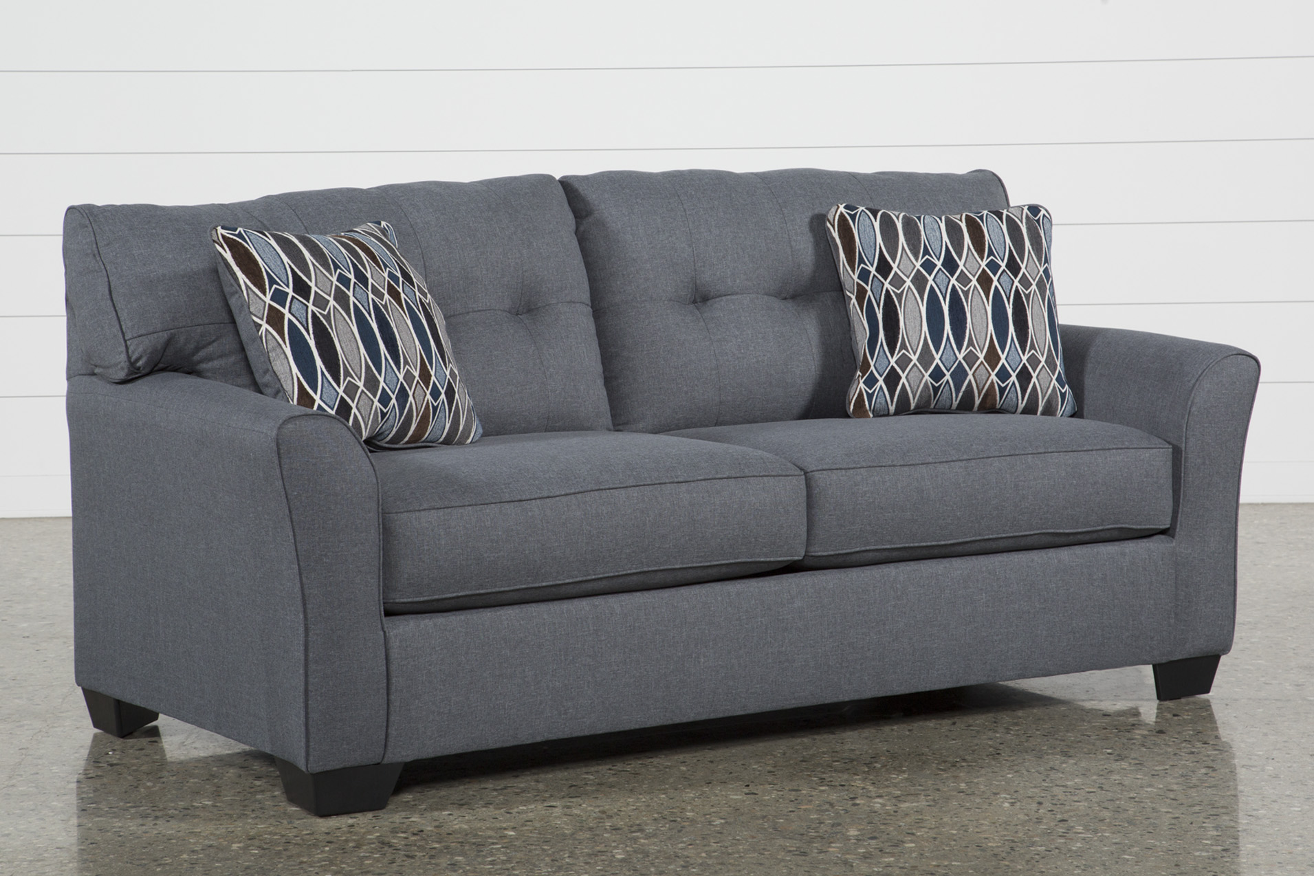 Beau Added To Cart. Chilkoot Gunmetal Full Sofa Sleeper ...