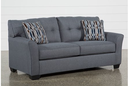 Chilkoot Gunmetal Sofa - Main