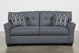 Chilkoot Gunmetal Sofa - Left