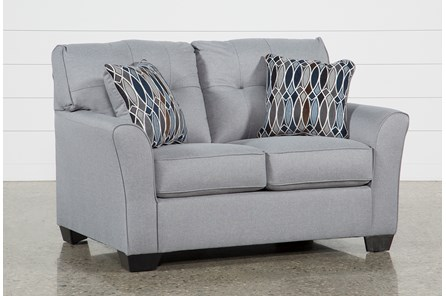 Chilkoot Smoke Loveseat - Main