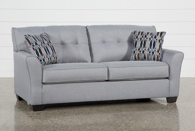 Chilkoot Smoke Sofa - 360