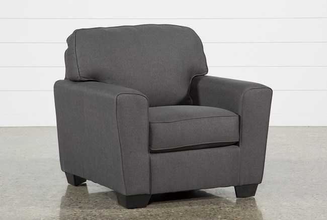 Mcdade Graphite Chair - 360