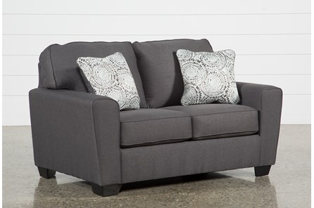 Mcdade Graphite Loveseat - Main