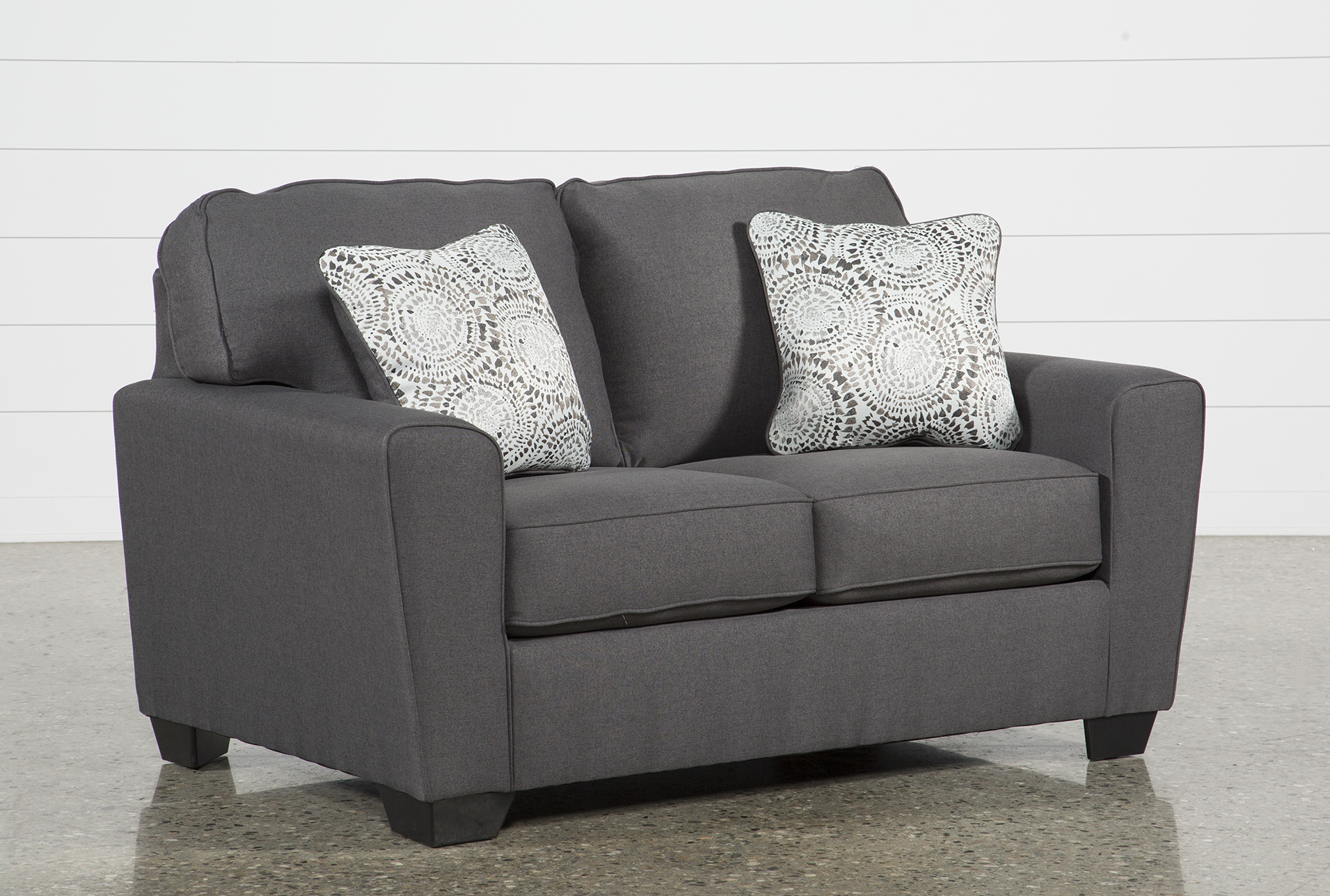 Charmant Mcdade Graphite Loveseat (Qty: 1) Has Been Successfully Added To Your Cart.