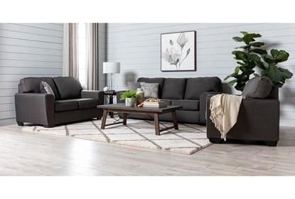 Stupendous Mcdade Graphite Sofa Short Links Chair Design For Home Short Linksinfo