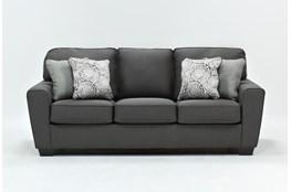 """Mcdade Graphite 87"""" Sofa"""