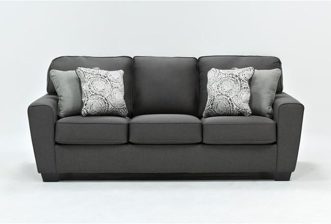 """Mcdade Graphite 87"""" Sofa - 360"""