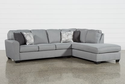Superb Mcdade Ash 2 Piece Sectional With Right Arm Facing Armless Chaise Cjindustries Chair Design For Home Cjindustriesco
