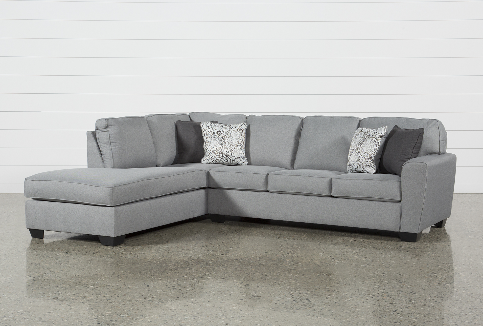 Mcdade Ash 2 Piece Sectional W/Laf Chaise (Qty: 1) Has Been Successfully  Added To Your Cart.