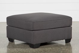 Mcdade Graphite Oversized Accent Ottoman