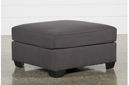Mcdade Graphite Cocktail Ottoman