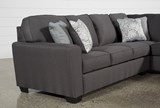 Mcdade Graphite 2 Piece Sectional W/Raf Chaise - Left