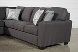 Mcdade Graphite 2 Piece Sectional W/Laf Chaise - Right