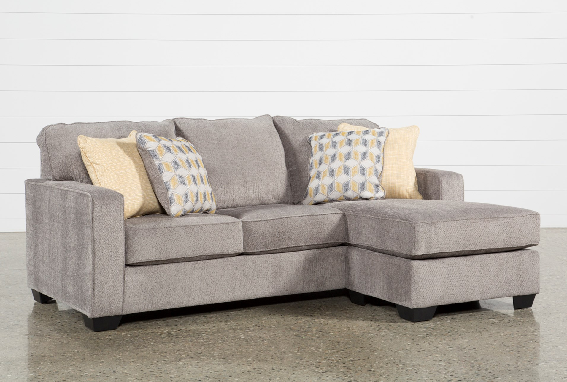small sectional with chaise. Mcculla Sofa With Reversible Chaise Small Sectional O