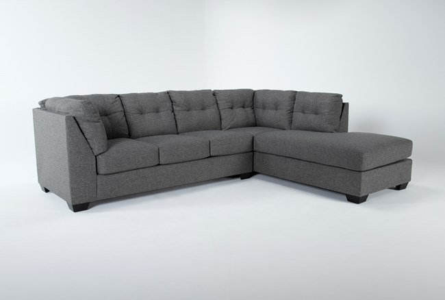"""Arrowmask 2 Piece 115"""" Sectional With Sleeper & Right Arm Facing Chaise - 360"""