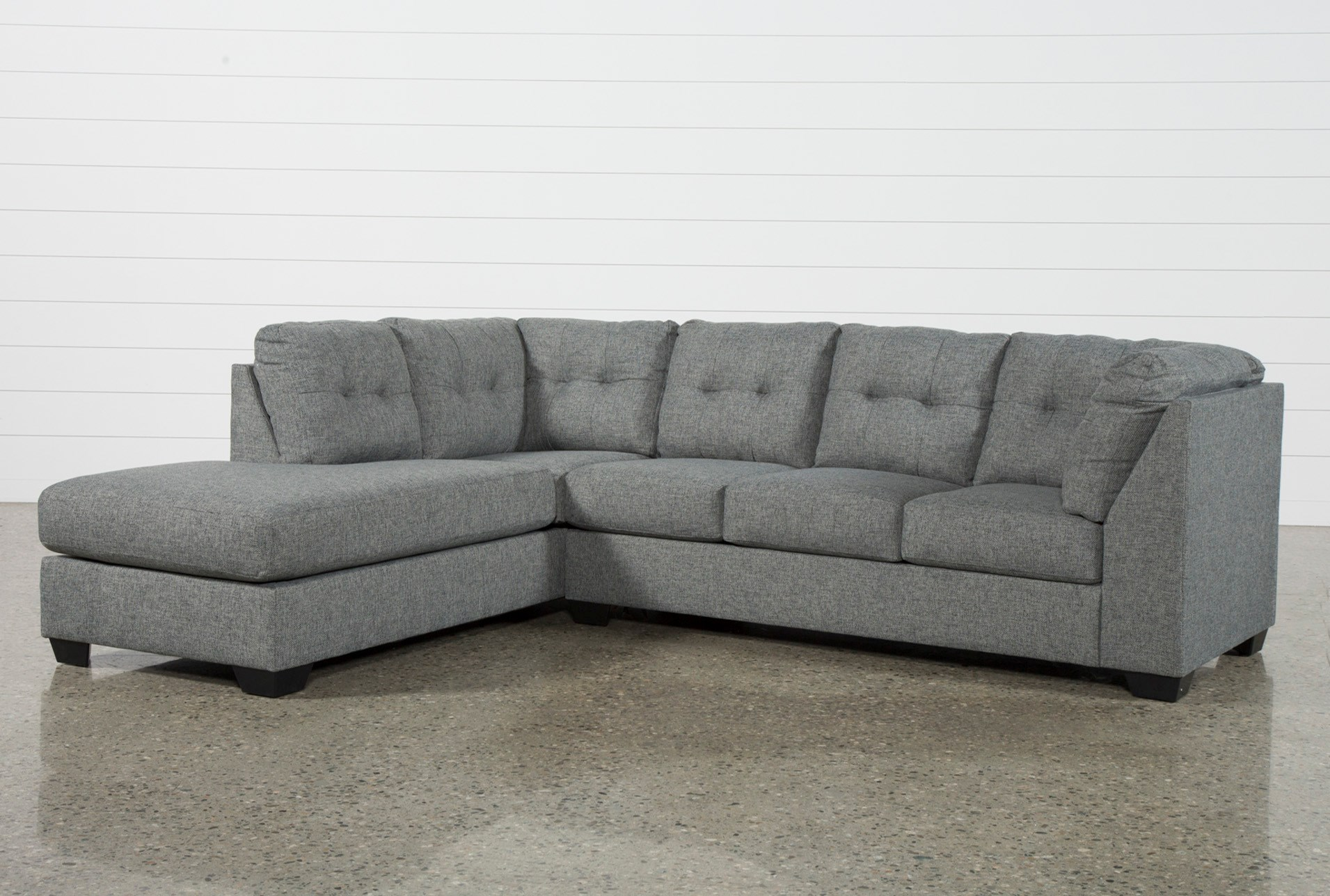 shop chaise contemporary sectionals sectional with quality reversible olson