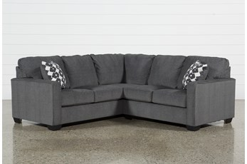 "Turdur 2 Piece 92"" Sectional With Right Arm Facing Loveseat"